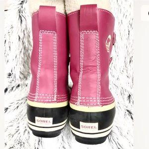 Sorel Shoes - 🔥1 HOUR SALE🔥SOREL PINK WINTER BOOTS. LIKE NEW